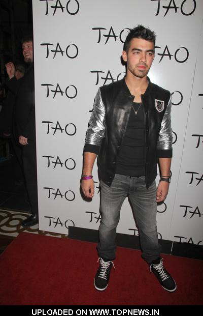 Joe Jonas Hosts the Billboard Awards Pre-Party at TAO Nightclub in Las Vegas