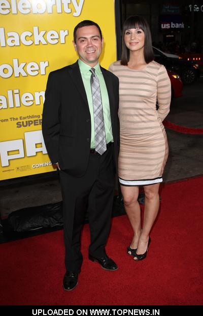 "Beth Dover and Joe Lo Truglio at ""Paul"" Los Angeles Premiere - Arrivals"