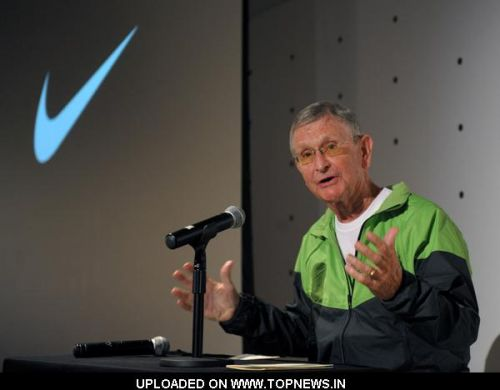 Joe Newton at 2010 Track and Field - Nike Track and Field Coaches Clinic at Nike Inc. in Culver City