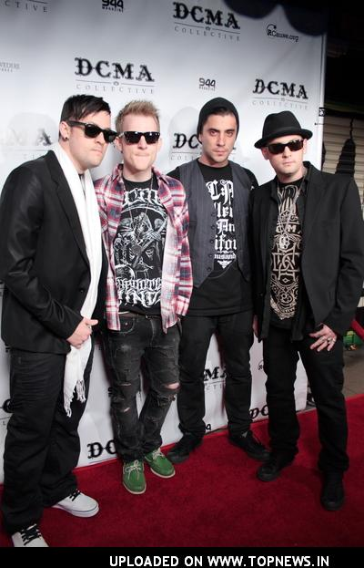 Joel Madden at DCMA Collective Flagship Store Grand Opening - Arrivals