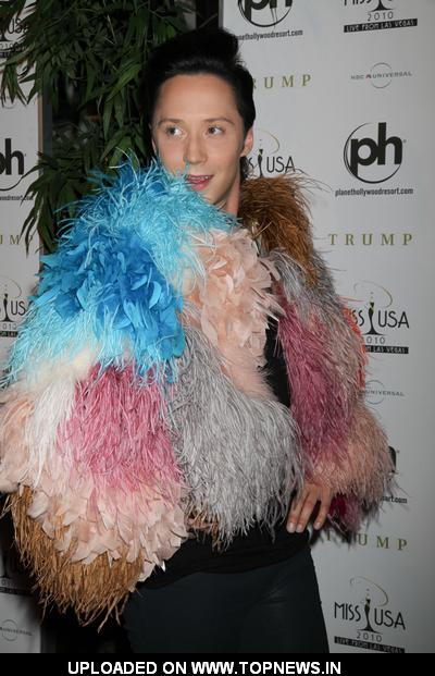 Johnny Weir at Miss USA 2010 Pageant - Arrivals