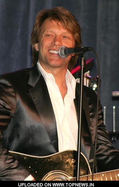"Jon Bon Jovi at 2009 ""Voices"""