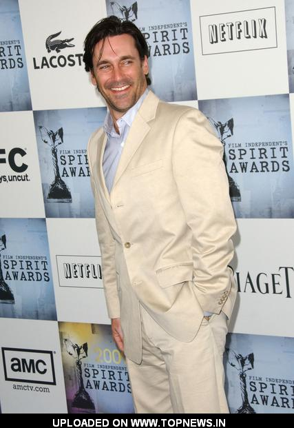 Jon Hamm  at  2009 Film Independent Spirit Awards - Arrivals