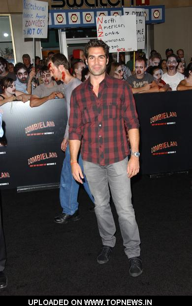 "Jordi Vilasuso at ""Zombieland"" Los Angeles Premiere - Arrivals"
