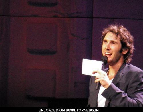 "Josh Groban 2011 ""Straight To You"" World Tour in Concert at the Wells Fargo Center in Philadelphia"