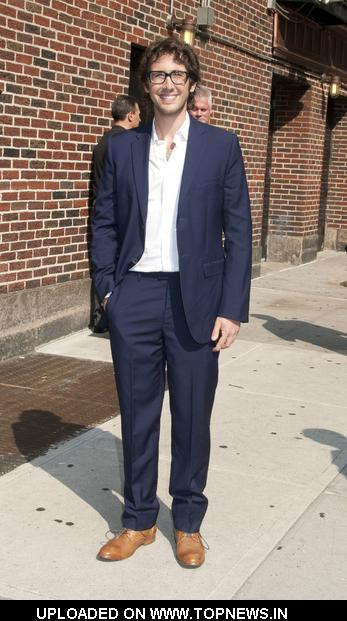 "Josh Groban at ""Late Show with David Letterman"""