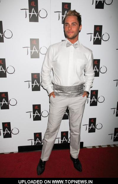 Josh Strickland at TAO Nightclub in Las Vegas on May 6, 2010