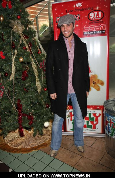 Josh Strickland at Holly Jolly Christmas Toy Drive Presented by 97.1 Radio at El Segundo Restaurant in Las Vegas on December