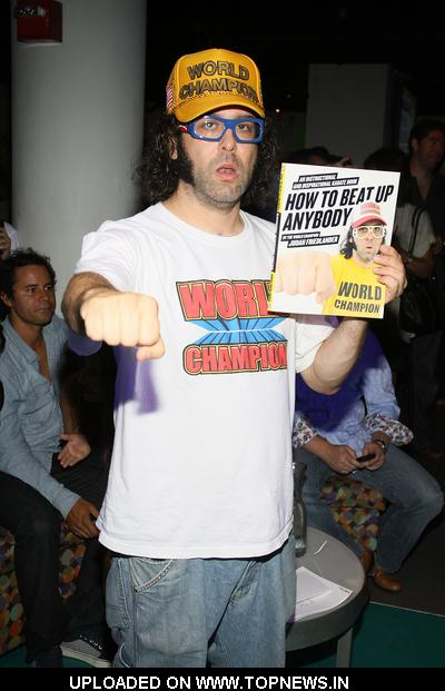 Judah Friedlander at Ping Pong With the Models to Benefit Haiti at Spin NYC in New York City on September 8, 2010