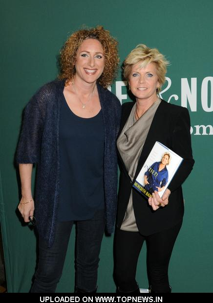 "Judy Gold at Meredith Baxter ""Untied: A Memoir of Family, Fame, and Floundering"" Book Signing at Barnes & Noble in New York City"
