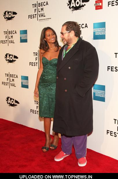 Julian Schnabel And Rula Jebreal At 10th Annual Tribeca