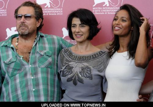 "Julian Schnabel at 67th Annual Venice Film Festival - ""Miral"" Photocall"
