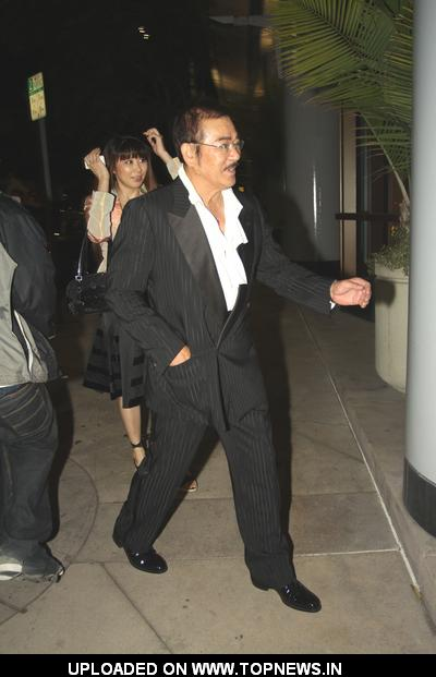 Juri Manase and Sonny Chiba at 2011 Singafest Asian Film Festival Afterparty at Napa Valley Grille