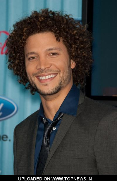 Justin Guarini at American Idol Top 13 Party - Arrivals