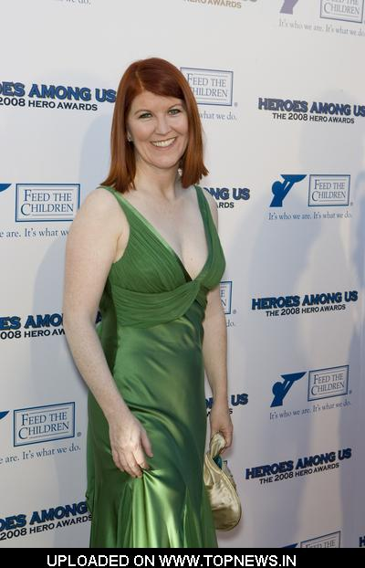 Kate Flannery at 2008 Hero Awards - Arrivals