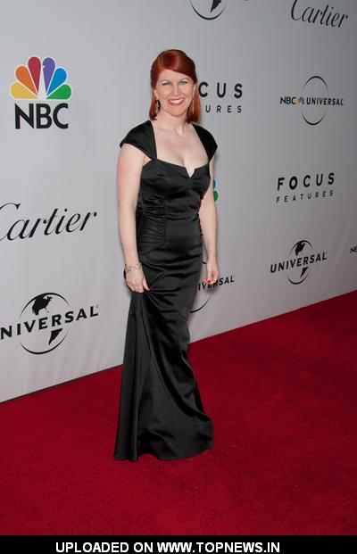 Kate Flannery at 66th Annual Golden Globes NBC After Party - Arrivals