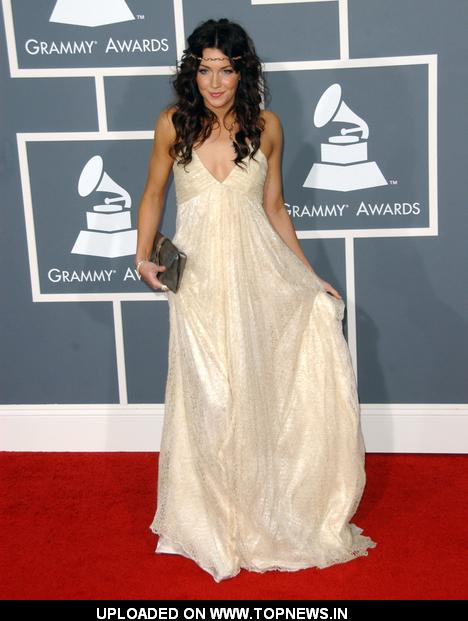 Katie Cassidy at 51st Annual GRAMMY Awards - Arrivals