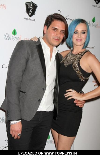 Markus Molinari with Katy Perry Newly Single in Las Vegas