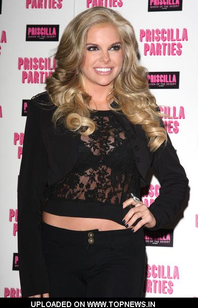 Kayla Collins at Priscilla Parties Launch Party - Arrivals