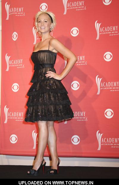 Kellie Pickler at 43rd Academy Of Country Music Awards - Press Room