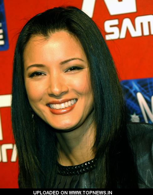 kelly hu pictures. Kelly Hu at quot;Afro Samuraiquot;