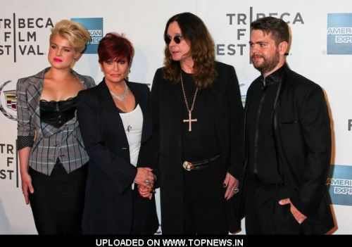 "Kelly Osbourne, Sharon Osbourne and Jack Osbourne at 10th Annual Tribeca Film Festival - ""God Bless Ozzy Osbourne"" Premiere"