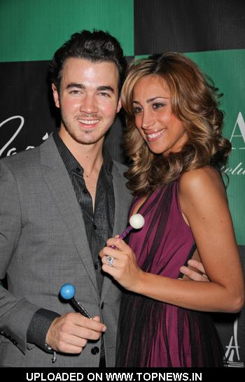 Danielle Deleasa Jonas at Kevin Jonas Celebrates 24th Birthday at   Chateau Nightclub