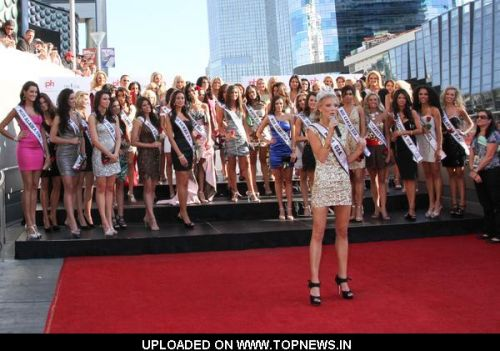 Kristen Dalton at Miss USA 2010 Contestants