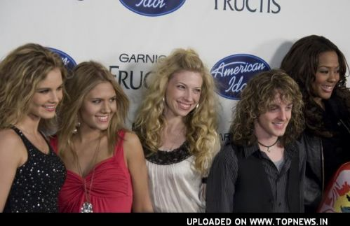 Kristy Lee Cook at American Idol Season 7 Top 24 Semi-Finalist Party