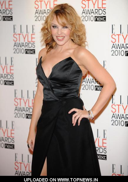 Kylie Minogue at ELLE Style Awards 2010 - Arrivals