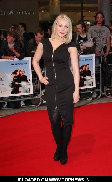 "Laura Hamilton at  ""Larry Crowne"" UK Premiere"