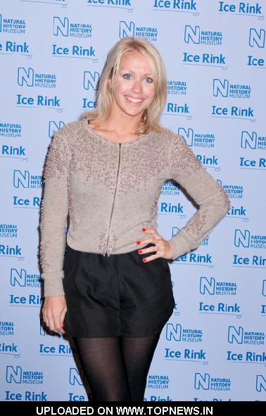 Laura Hamilton at 2011 Natural History Museum Ice Rink Opening - Arrivals