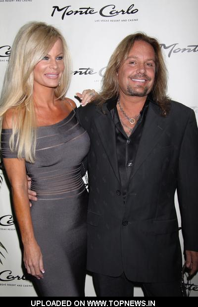 Lia Neil and Vince Neil at Zowie Bowie Vintage Vegas Show Opening Night - ...