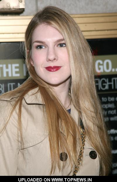 "Lily Rabe  at  ""Exit the King"" Broadway Opening Night - Arrivals"