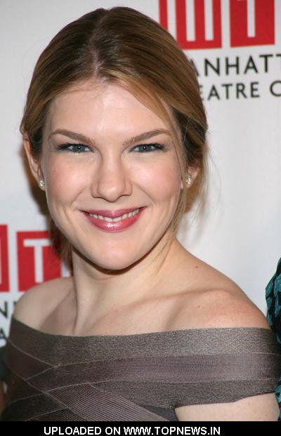 "Lily Rabe at ""The American Plan"" Broadway Play Opening Night - After Party - Arrivals"