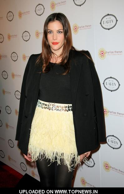 Liv Tyler at 2010 Charlize Theron Africa Outreach Project Benefit - Arrivals