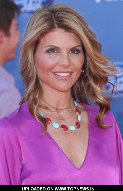 Lori Loughlin at American Idol 2011 Finale Arrivals