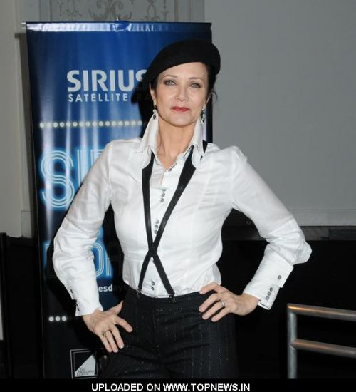 "Lynda Carter at ""Sirius Live on Broadway"" in New York on March 11, 2009"