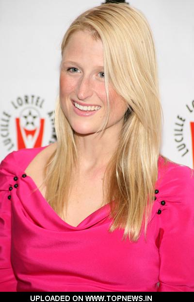 Mamie Gummer at  2009 Lucille Lortel Awards - Arrivals