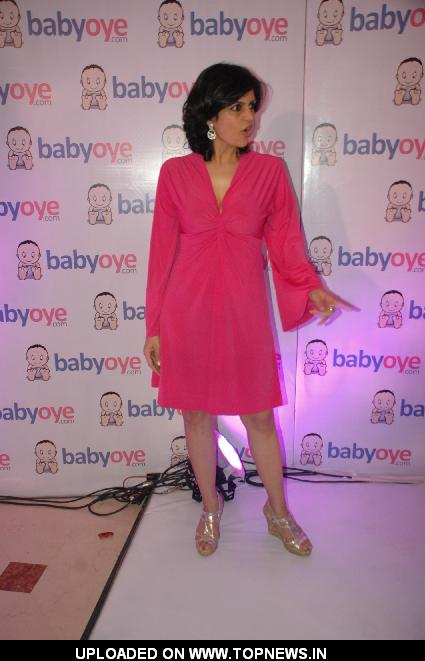 Mandira Bedi  launches Babyoye.com website at Taj Lands End