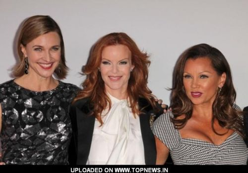 Marcia Cross, Vanessa Williams and Brenda Strong at 'Desperate Housewives' Final Season Kick-Off Party