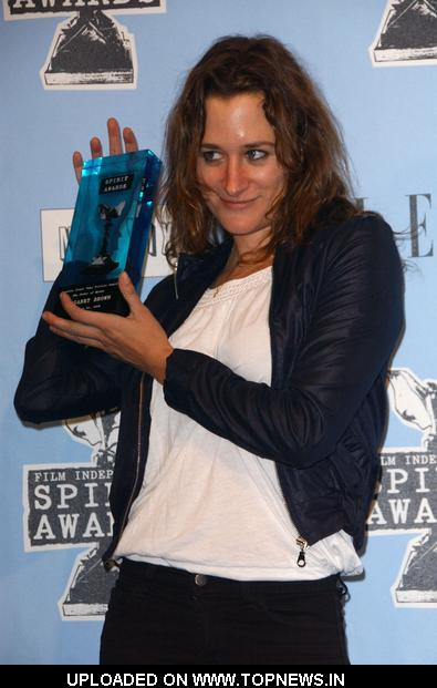 Margaret Brown at 2009 Film Independent Spirit Awards - Press Room