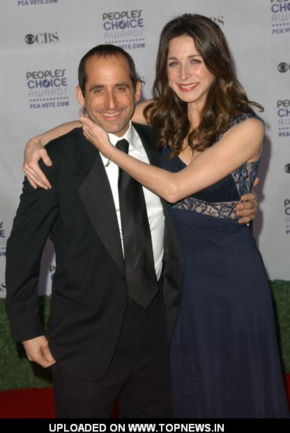 Marin Hinkle at 35th Annual People's Choice Awards - Arrivals