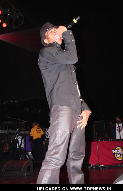 Mario at 2008 HOT 97 Full Frontal Hip Hop Fashion Show - Concert