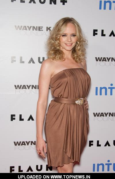 Marley Shelton at Flaunt Magazine's 10th Anniversary Party and Annual Holiday Toy Drive - Arrivals
