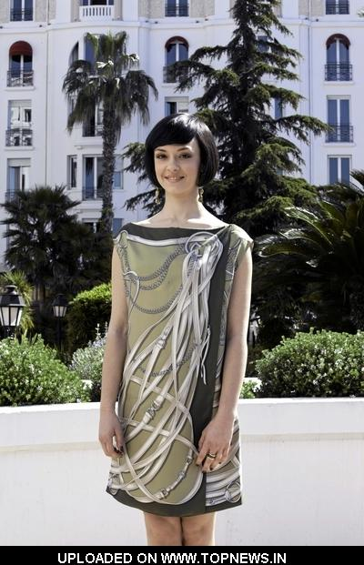 "Marta Gastini at MIPTV 2011 - ""Borgia"" Photocall"