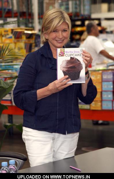 "Martha Stewart ""Martha Stewart Cupcakes"" Book Signing at Costco in Bridgewater on July 14, 2009"