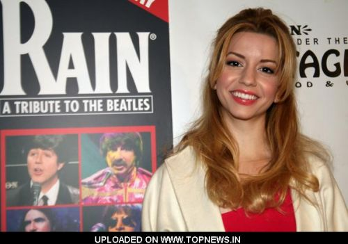 "Masiela Lusha at ""Rain: A Tribute to the Beatles"" at the Pantages Theatre - Arrivals"
