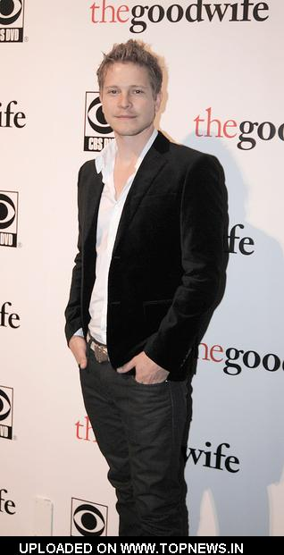 "Matt Czuchry at ""The Good Wife"" TV Series Season Premiere Party - Arrivals"