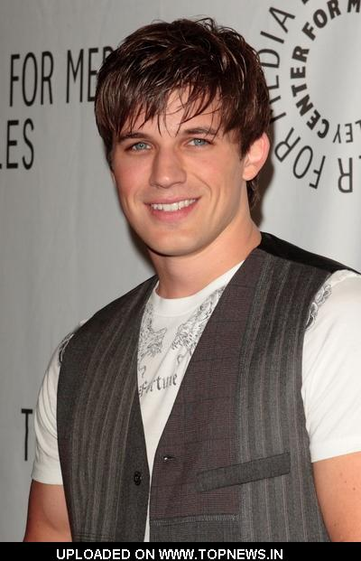 Matt Lanter at The 26th Annual William S. Paley Television Festival: 90210